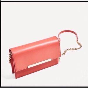Zara Bags - Zara Leather Crossbody Bag NEW